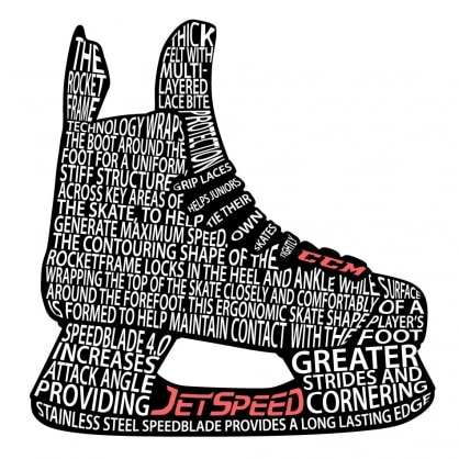 Jetspeed Typography - black version