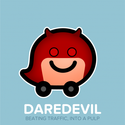 Waze-Marvels-8-Daredevil-retro-red